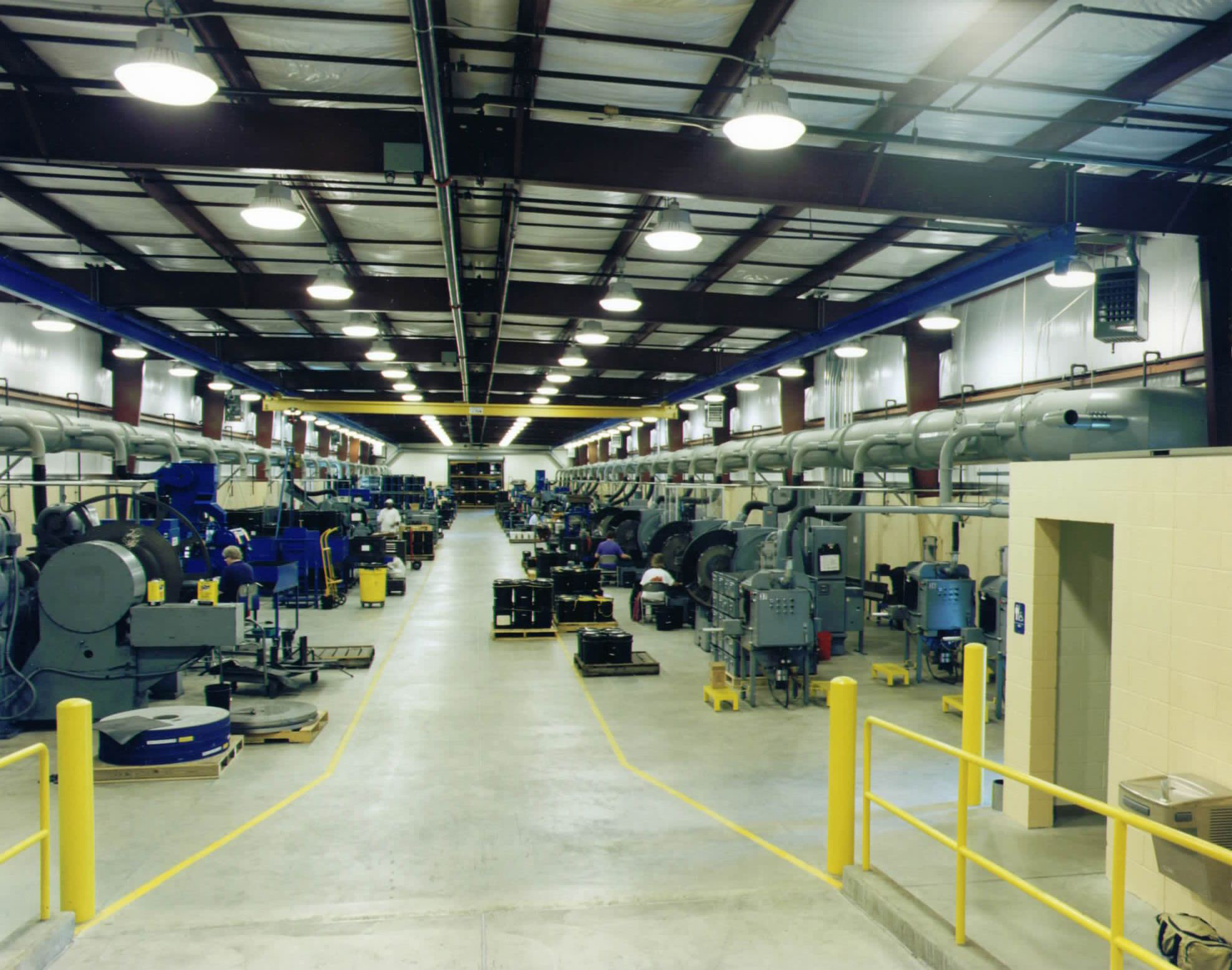Hawthorne systems inc the photo above shows interior ductwork servicing multiple grinding machines at a midwest automotive spring manufacturing facility dailygadgetfo Gallery